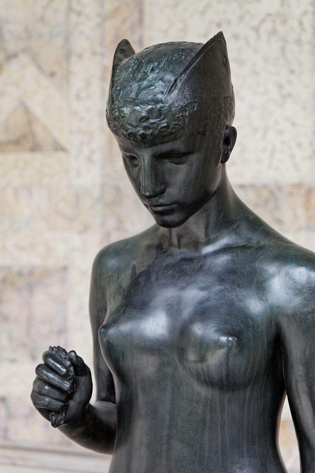 48 Hélène Bertaux, Psyché sous l'empire du mystère, 1885-87