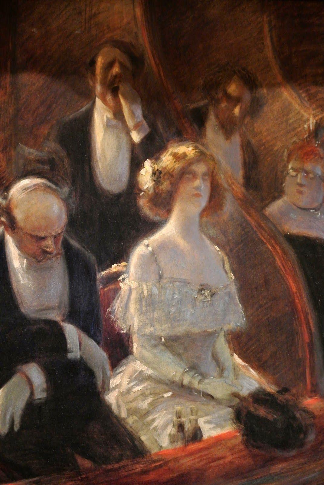 1905 environ, Albert GUILLAUME, Musique savante