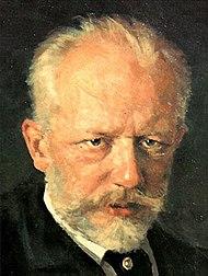1893_Piotr Illitch Tchaikovski Détail du tableau de Nikolai Dimitriyevich Kuznetsov_source_Wikipedia.org