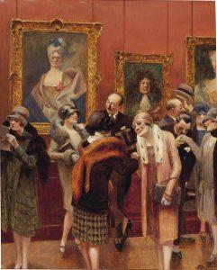 1925 environ, Albert-GUILLAUME, Passionnés d'art...
