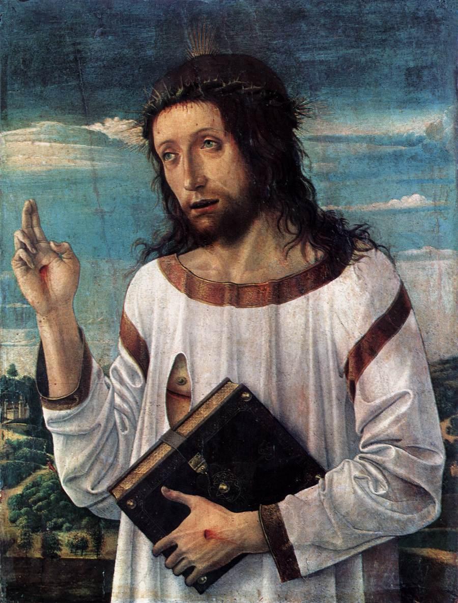 1460-70_Bellini_Le _Christ_benissant_Louvre_Paris