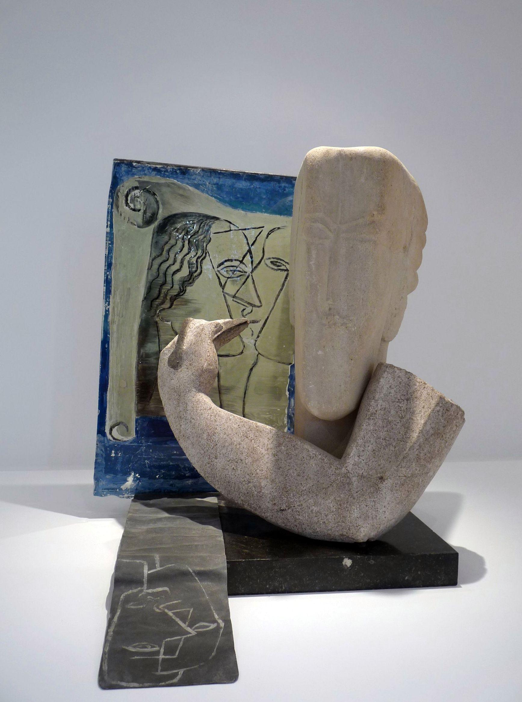 1929-49 Zadkine Osip, Le Sculpteur, Musée Zadkine, Paris, cliché JFMartine_P1260671_JFMartine