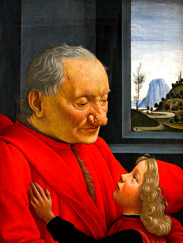 25a_1490c_Ghirlandajo_Domenico_Vieillard-à-l-enfant_Tempera-s-b_62x46cm_Louvre
