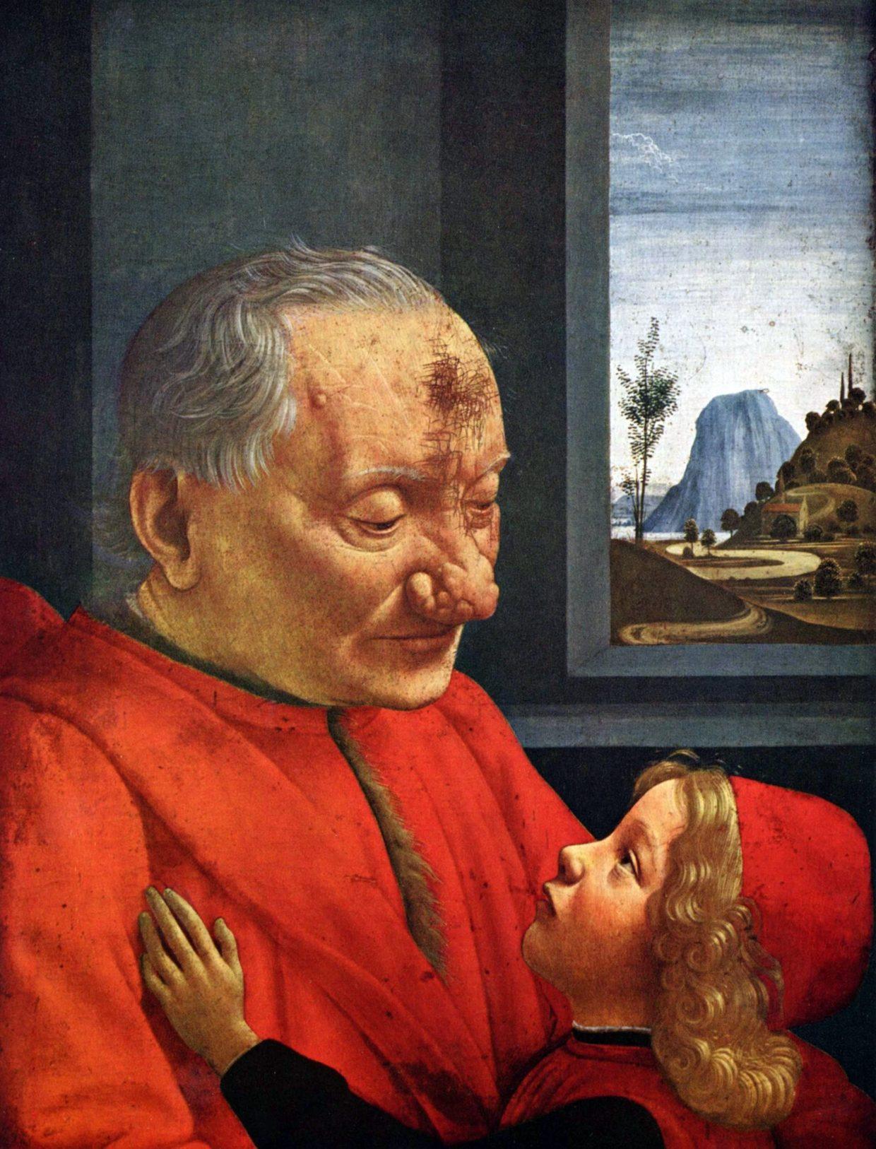 25b_1490c_z_avant_restauration_Domenico_Ghirlandaio_le-Viel-homme--et-l-enfant003