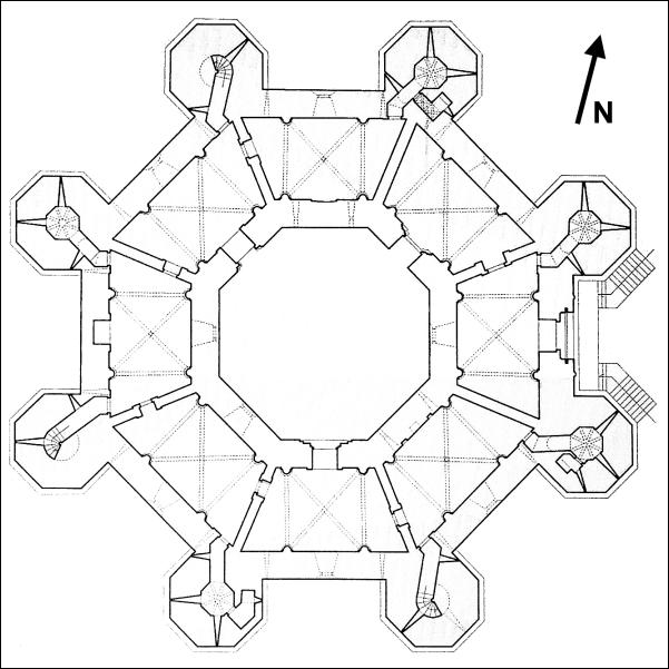 Casteldelmonte plan
