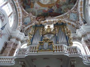 Innsbruck Sankt Jakob Grandes orgues bleues JF Martine